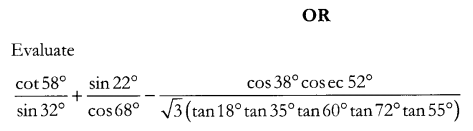 CBSE Sample Papers for Class 10 Maths Paper 12 Q 19.1
