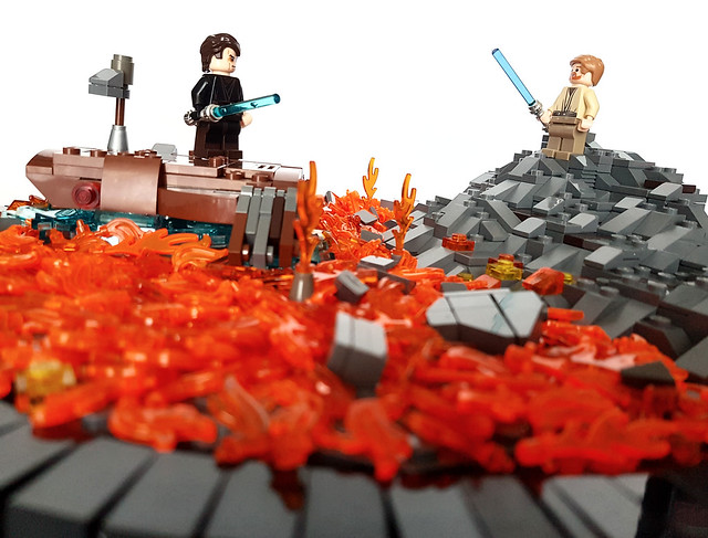 Moc Star Wars Episode Iii The Revenge Of The Sith Battle Of The Heroes Lego Star Wars Eurobricks Forums