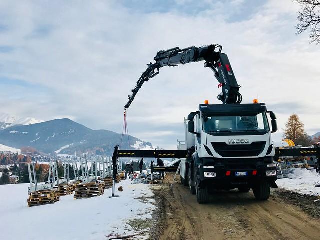 Neuer Trenker-Lift - nuovo skilift Trenker