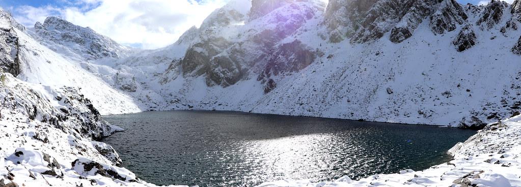 Le Lac du Crozet (1 986 m), plutôt bas