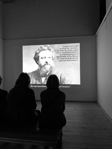 william morris exhibition, millesgården, october 25, 2018