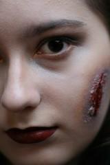 Beautiful zombie-