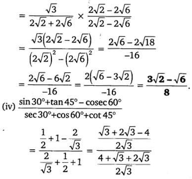 NCERT Solutions for Class 10 Maths Chapter 8 Introduction to Trigonometry 19