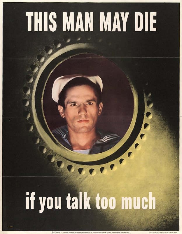 This man may die - if you talk too much (1943) - Valentino Sarra (1903-)