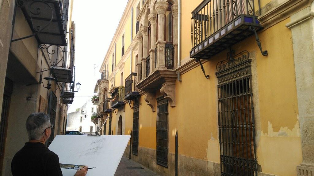 """La Escuela de Bellas Artes """"Bufón Calabacillas"""" ha comenzado el curso 2018/2019 con talleres de Dibujo, Pintura, Danza, Cerámica y Modelado"""