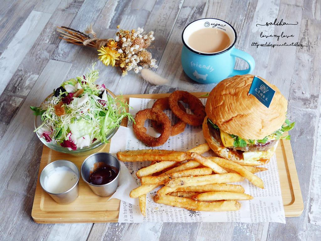 新店區公所站中華路不限時早午餐咖啡廳餐廳推薦花草慢食光 (1)