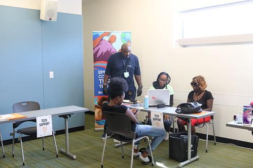 #AllHandsonTech Event at Benning Road Library