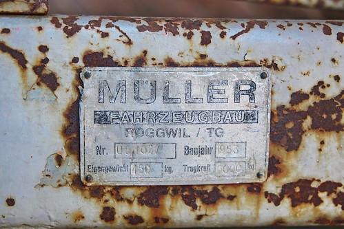 Müller Anhänger in Roggwil TG 25.7.2018 2583