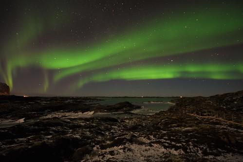 Aurora evening walk