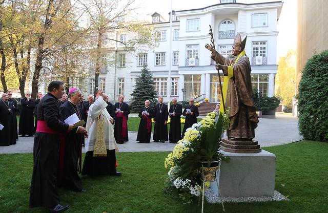 Odsłonięcie Pomnika Jana Pawła II - 18 X 2018 Warszawa