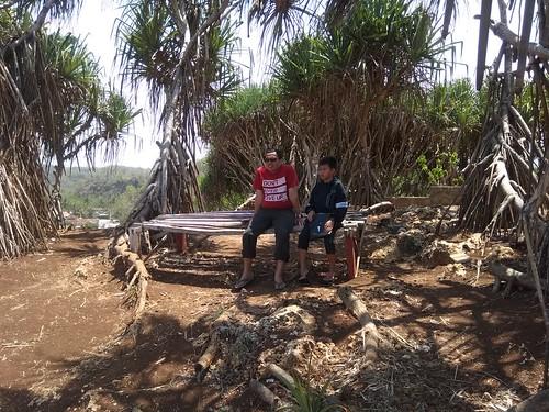 momong anak di pulau drini