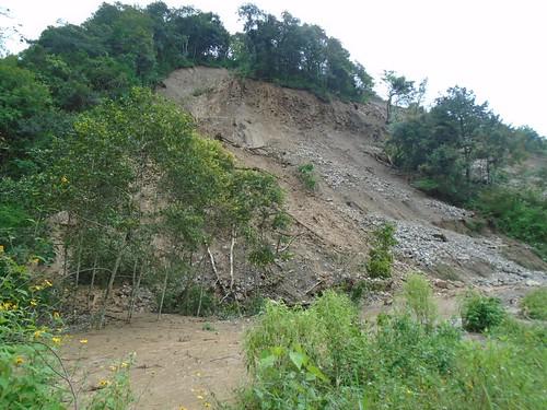 Camino a Chiconcuautla afectado 3