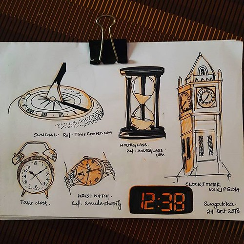 #clocks of all times #inktober #inktober2018 #day14clock