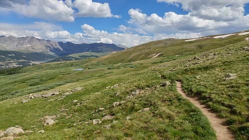 colorado chfstew coloradotrail segment8 hiking landscape cosummitcounty
