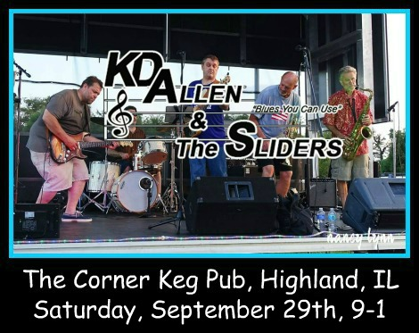 KD Allen & The Sliders 9-29-18