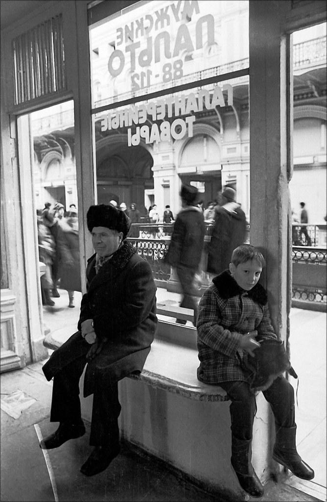 1989. ГУМ. Секция «Мужское пальто»