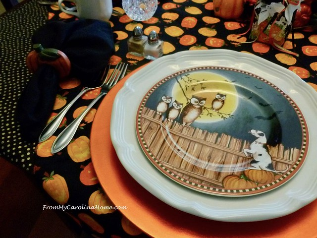 Happy Pumpkins Tablescape at From My Carolina Home