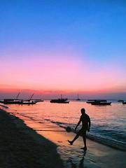 Sunset. Zanzibar