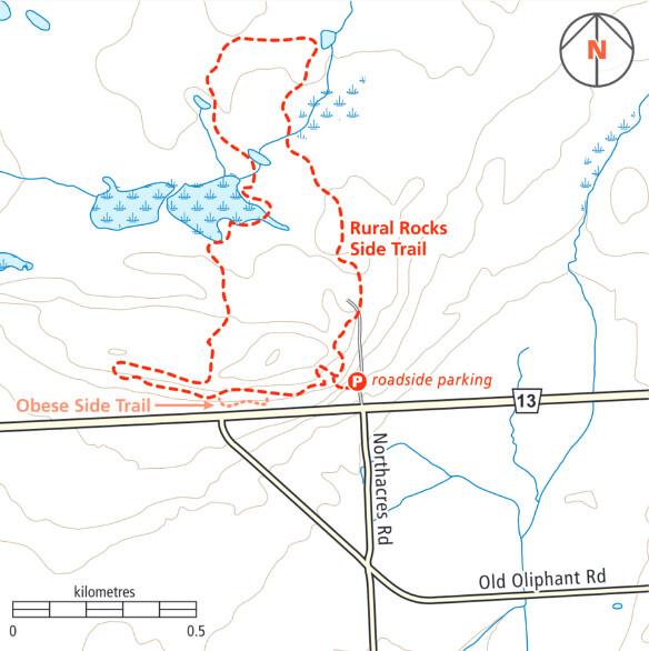 Rural Rocks Trail Map