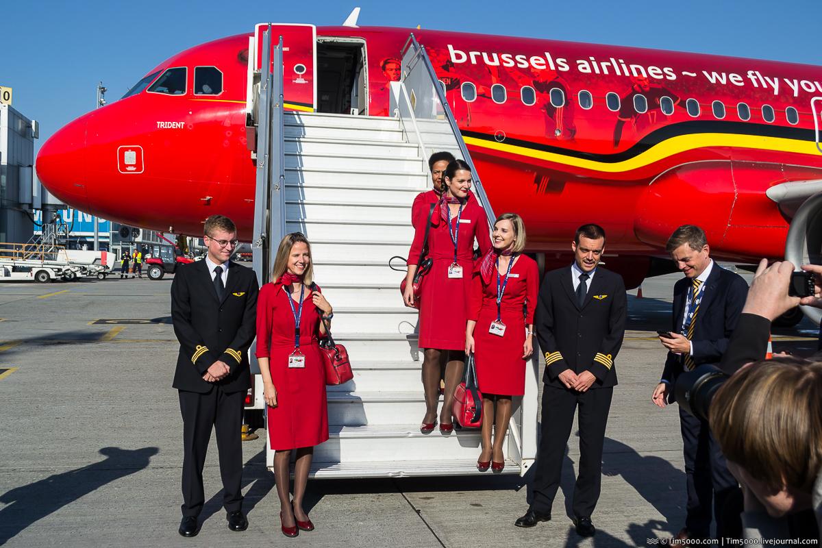Брюссельские авиалинии в Киеве