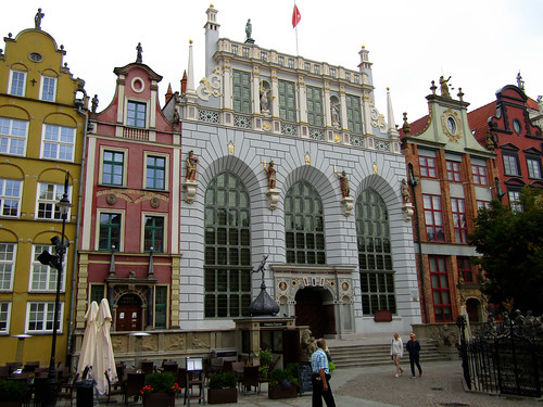 Artus Court on the Long Market in Gdansk