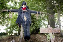 Vicarage scarecrow 2.