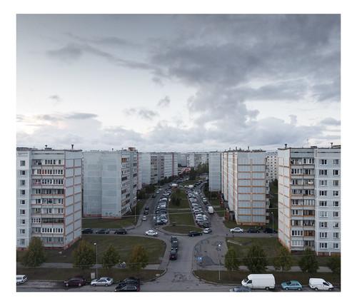 ziepniekkalns riga landscape post soviet urban suburbs concrete residential buildings