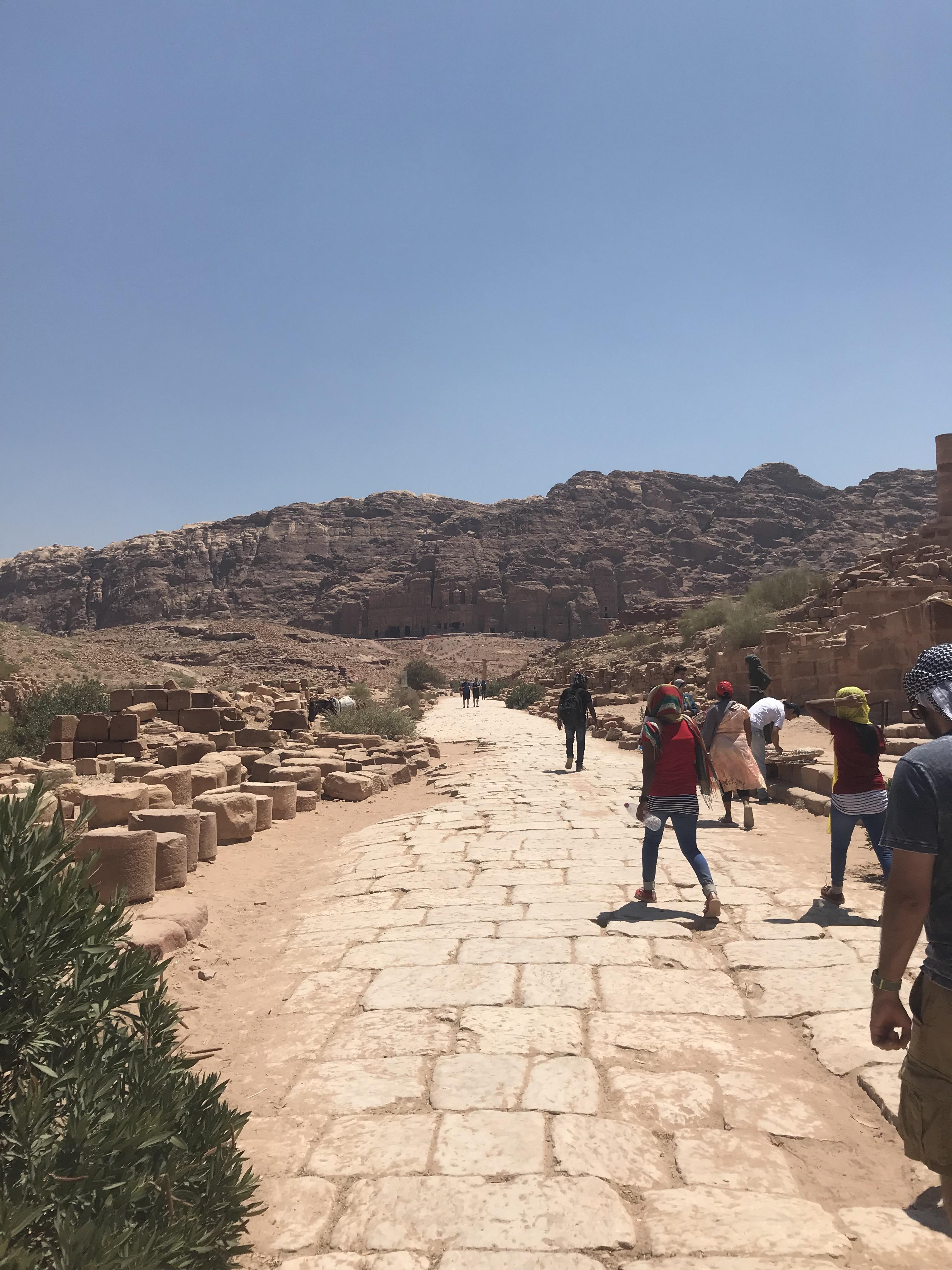 Petra - roman road