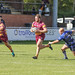 Matthew Riley with Nathan Rushton in support gets past Samuel Moss to set up Sedgley's second try-2665