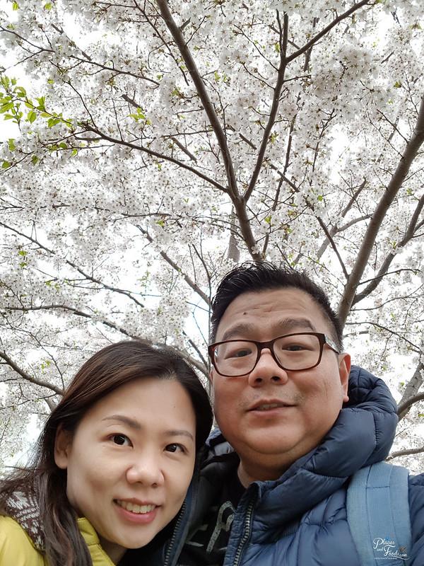 sapporo maruyama park selfie