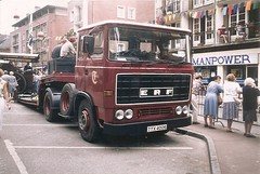 ERF B truck tractor 1977 - Photo of Saint-Philbert-des-Champs