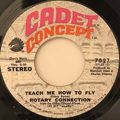 ROTARY CONNECTION:TEACH ME HOW TO FLY(LABEL SIDE-A)