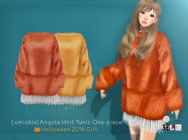 {amiable}Halloween 2018 New Group Gift@ the Main Store.