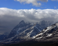 Storm Clouds and Going-to-the-Sun Mountain, Glacier County, MT