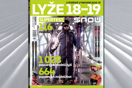 SNOW 111 market - lyže 2018/19 + Supertest lyží
