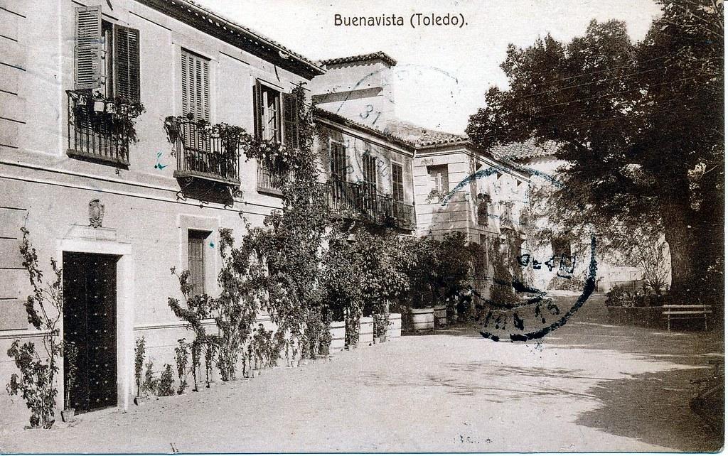 Palacio de Buenavista a comienzos del siglo XX.