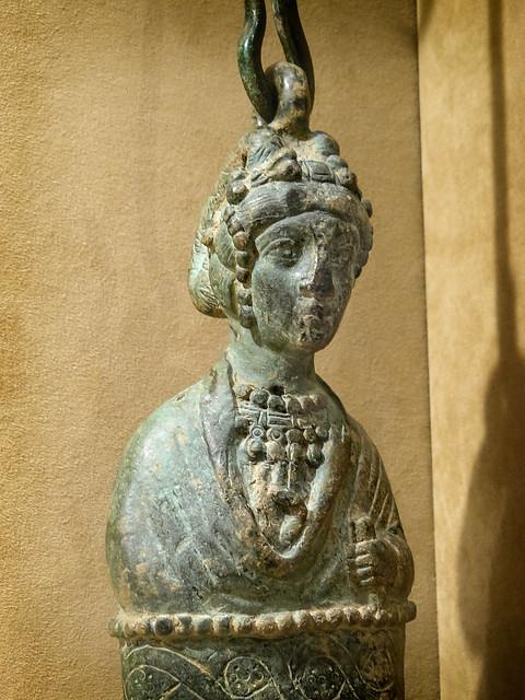 Steelyard weight depicting Byzantine Empress 400-450 CE