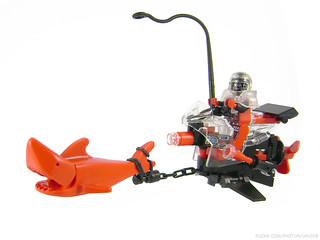 Super Spyrius Scout Space Shark Speeder Scooter