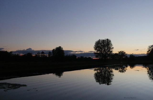 Sunset, Panasonic DMC-GH4, Lumix G Vario 14-45mm F3.5-5.6 Asph. Mega OIS
