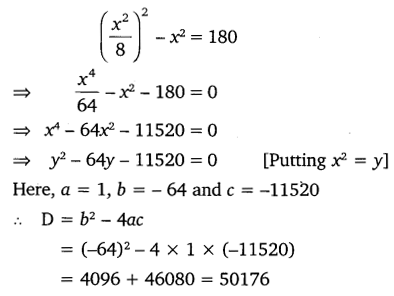 NCERT Solutions for Class 10 Maths Chapter 4 Quadratic Equations 29