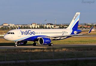 VT-IZE Airbus A320 Neo Indigo