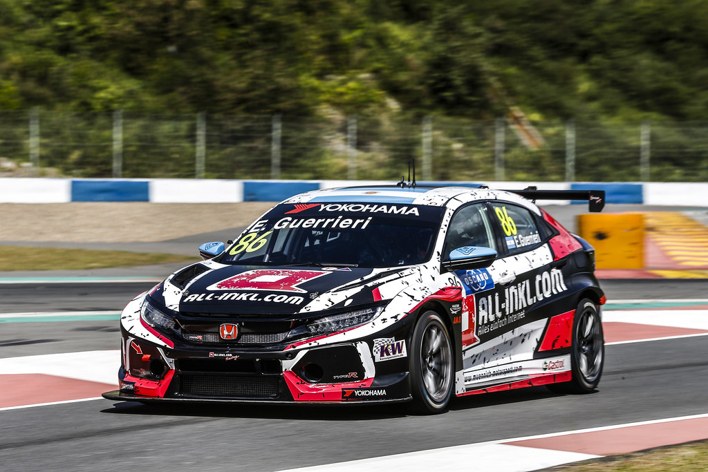 86 GUERRIERI Esteban, (arg), Honda Civic TCR team ALL-INKL.COM Munnich Motorsport, action during the 2018 FIA WTCR World Touring Car cup of China, at Ningbo  from September 28 to 30 - Photo Jean Michel Le Meur / DPPI