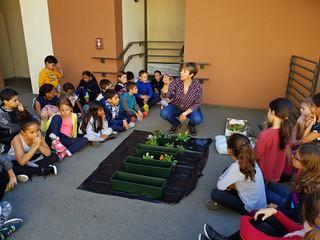 Des jardiniers chez les CE2