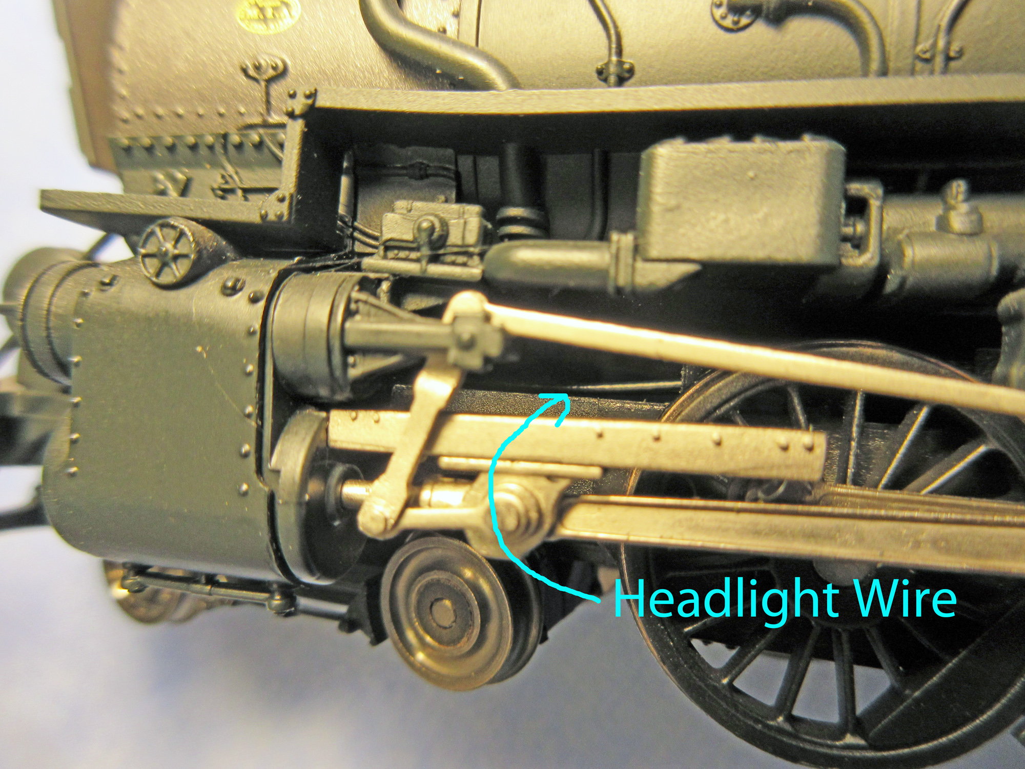 Bli M1a Headlight Wire For Cuda Ken Model Railroader Magazine Head Lights Trains Prr M1bli3