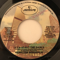 HAMILTON BOHANNON:LET'S START THE DANCE(LABEL SIDE-A)