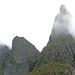 Pinnacle In Fog