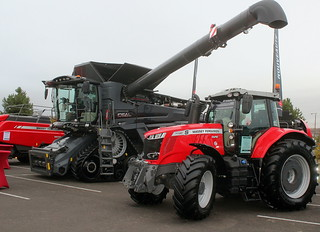Massey Ferguson IDEAL et 7720 S