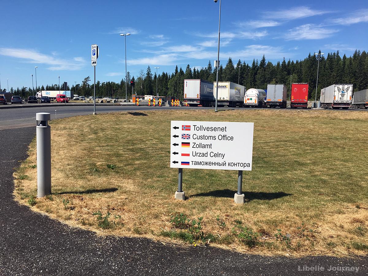 Border between Norway and Sweden