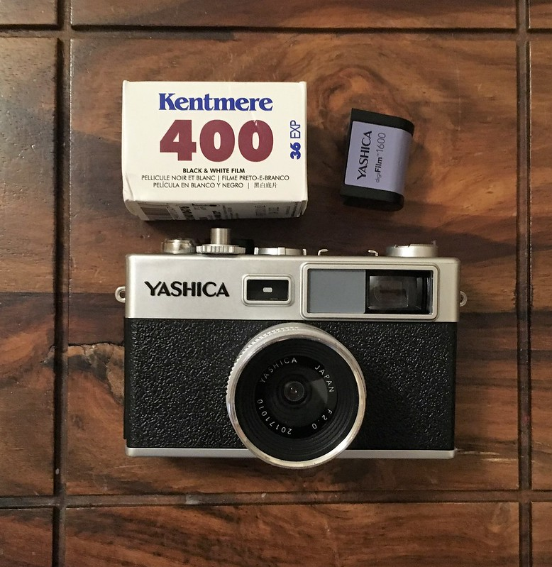 Yashica Y35 with DigiFilm