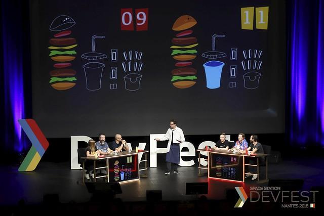Burger Quizz by DevFest Nantes